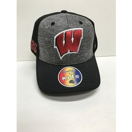 Wisconsin Badgers Youth Cosmo Adjustable Hat