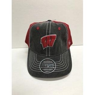 Wisconsin Badgers Enzyme Adjustable Snapback Hat