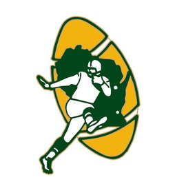 Green Bay Packers 1968 Throwback Logo Pin