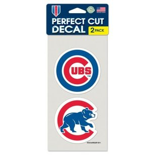Chicago Cubs 2 Pack of Perfect Decals
