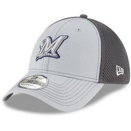 New Era Milwaukee Brewers 39-30 Grayed Out Neo Hat