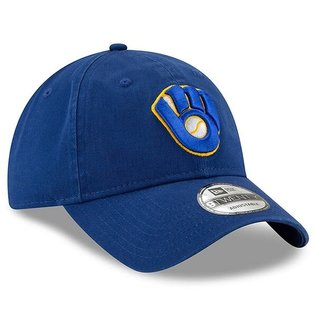 New Era Milwaukee Brewers 9-20 Royal Core Classic Adjustable Hat