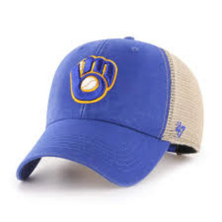 '47 Brand Milwaukee Brewers Flagship MVP Snapback Adjustable Hat