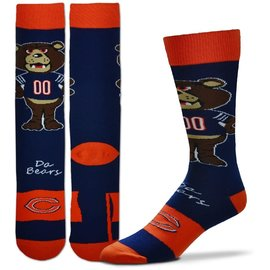 Chicago Bears Men's Flag Socks Large
