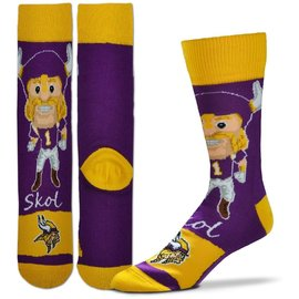 Minnesota Vikings Men's Flag Socks Large