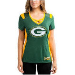 green bay packers women's t shirts