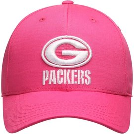 Green Bay Packers Youth Pink and White Tonal Slouch Hat
