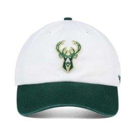 '47 Brand Milwaukee Bucks 47 Two Tone Clean Up Adjustable Hat
