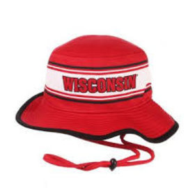 Wisconsin Badgers Panorama Bucket Hat