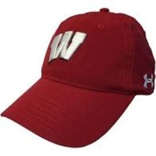 Under Armour Wisconsin Badgers Under Armour Air Vent Alloy Hat