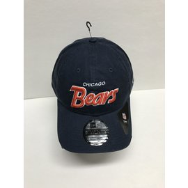 Chicago Bears 9-20 Retro Script Adjustable Snapback Hat