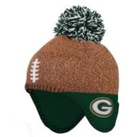 Outerstuff Green Bay Packers Infant Football Head Knit Hat