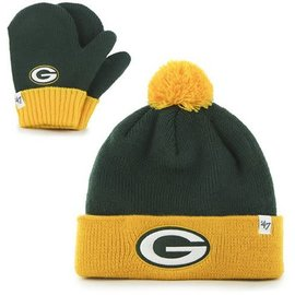 Green Bay Packers Infant Bam Bam Glove & Mitten Set