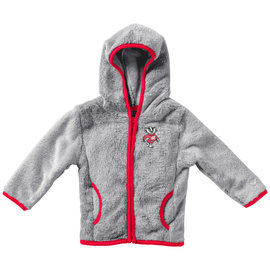 Wisconsin Badgers Youth Chicken Boo Faux Fur Jacket
