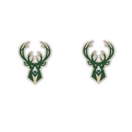 WinCraft, Inc. Milwaukee Bucks Post Earrings