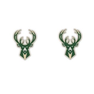 WinCraft, Inc. Milwaukee Bucks Post Earrings