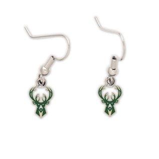 Milwaukee Bucks Dangle Earrings