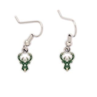 WinCraft, Inc. Milwaukee Bucks Dangle Earrings