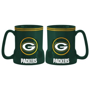 Green Bay Packers All Green Gametime Sculpted Mug