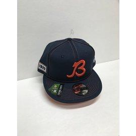 Chicago Bears 2019 9-50 Onfield Sideline Flatbill Snapback Adjustable Hat
