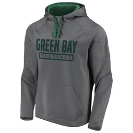 Green Bay Packers Men's Defender Monochrome Engage Pullover Hoodie