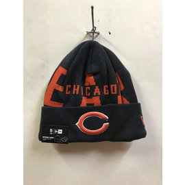 Chicago Bears Knit Bold Winter Hat