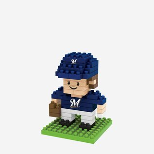 Forever Collectibles Milwaukee Brewers Player BRXLZ