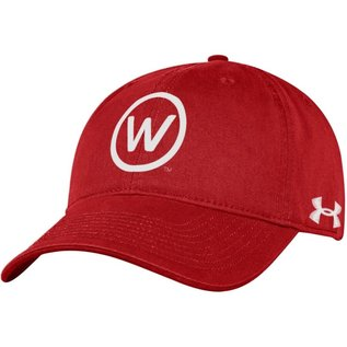 Wisconsin Badgers Adjustable Hat W in Circle