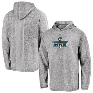 Milwaukee Brewers Men's Local Graphic Lightweight Hoodie