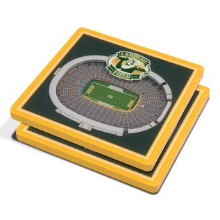 Green Bay Packers Stadium Coasters