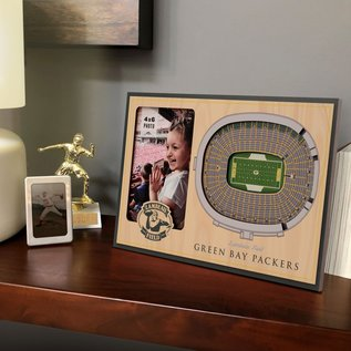 Green Bay Packers 3D Lambeau Field Picture Frame