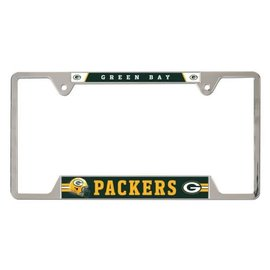 Green Bay Packers Metal License Plate Frame
