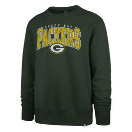 Green Bay Packers Men's  Varsity Headline Crew Sweatshirt