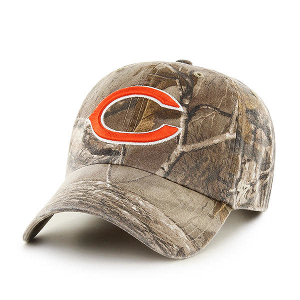 huge selection of fe592 c6232 Chicago Bears '47 Camo Clean Up Adjustable Hat
