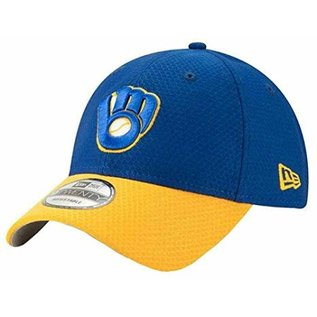 New Era Milwaukee Brewers 9-20 Tech Performance Adjustable Hat