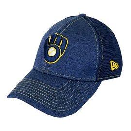 Milwaukee Brewers 9-40 Team Tread Adjustable Hat