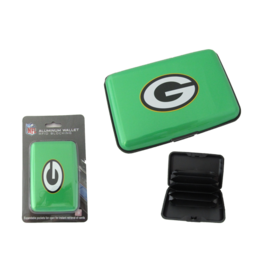 Green Bay Packers Color Aluminum Wallet