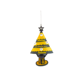 "Green Bay Packers 4"" Tree Bell Ornament"
