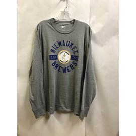 Milwaukee Brewers Men's Club Long Sleeved Tee