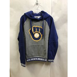 Milwaukee Brewers Women's Revolve Hoodie