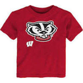 Wisconsin Badgers Youth Headshot Short Sleeve Tee