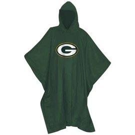Gift Pro Green Bay Packers Green Rain Poncho