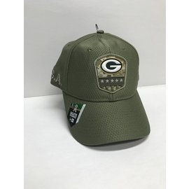 Green Bay Packers 9-20 2019 Salute to Service Adjustable Hat