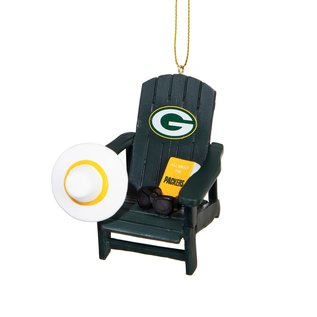 Green Bay Packers Adirondack Chair Ornament