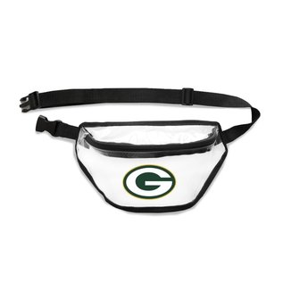 Little Earth Green Bay Packers Clear Fanny Pack