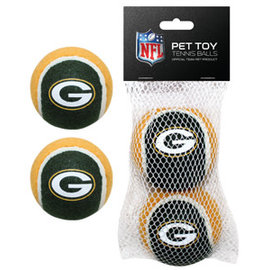 Green Bay Packers 2 Pack of Tennis Balls