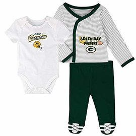 Green Bay Packers Youth Future Champ 3 Piece Set
