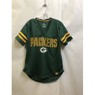 Green Bay Packers Women's Athena Full Mesh Short Sleeve