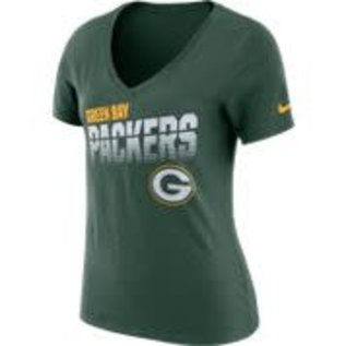 Green Bay Packers Women's Dri Fit Cotton Short Sleeve Tee