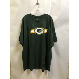 Green Bay Packers Men's Green With Chest Stripe Short Sleeve Tee